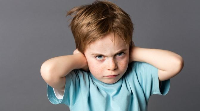 Упрямый ребенок. Как установить границы дозволенного.